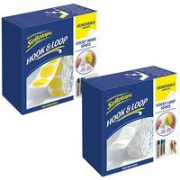 Sellotape Hook Spots Removable Pack of 125 FOC Loop Spots SE810852