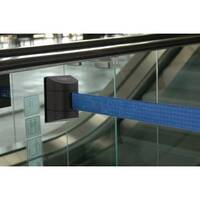 Barrier 7.7M Fully Retractable Wall Unit Black &D.Blue Belt
