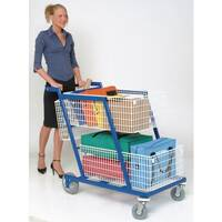 Long Budget Mail Distribution Trolley