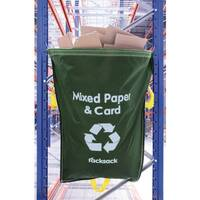 General Waste Green Racksack