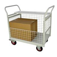 Mailroom Trolley With Half Side 830.600.900