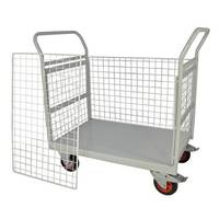 Mailroom Trolley With Full Side 830.600.900