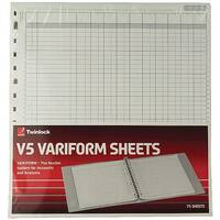 Variform V5 10 Column Cash Refill 75964
