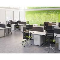 Ashford Multiple-Configuration Bench - Call Centre Desking Range