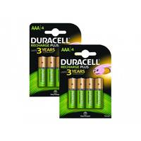 Duracell - Battery 4 x AAA type NiMH ( rechargeable ) 750 mAh (pack of 2)
