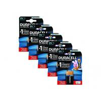 Duracell Ultra Power - Battery 9V Alkaline (pack of 5)