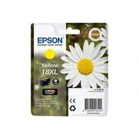 Epson 18XL - XL - yellow - original - blister with RF/acoustic alarm - ink cartridge - for Expression Home XP-212, 215, 225, 312, 315, 322, 325, 412, 415, 422, 425