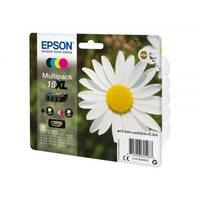 Epson 18XL - 4-pack - XL - black, yellow, cyan, magenta - original - blister - ink cartridge - for Expression Home XP-212, 215, 225, 312, 315, 322, 325, 412, 415, 422, 425