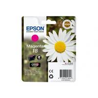 Epson 18 - Magenta - original - blister with RF/acoustic alarm - ink cartridge - for Expression Home XP-212, 215, 225, 312, 315, 322, 325, 412, 415, 422, 425