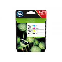 HP 903XL - 4-pack - High Yield - black, yellow, cyan, magenta - original - ink cartridge - for Officejet 6951, 6954, 6962; Officejet Pro 6960, 6961, 6970, 6974, 6975