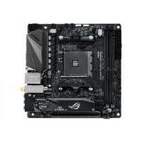 ASUS ROG STRIX B450-I GAMING - Motherboard - mini ITX - Socket AM4 - AMD B450 - USB 3.1 Gen 1, USB 3.1 Gen 2 - Bluetooth, Gigabit LAN, Wi-Fi - onboard graphics (CPU required) - HD Audio (8-channel)