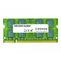 2-Power - DDR2 - 4 GB - SO-DIMM 200-pin - 800 MHz / PC2-6400 - CL6 - unbuffered - non-ECC - for HP Pavilion dv7