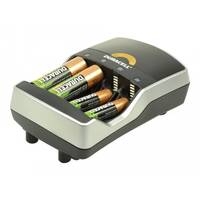 Duracell - 0.25 hr battery charger - (for 4xAA/AAA) 4 x AA type - 2400 mAh - United Kingdom