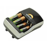 Duracell - Battery charger - (for 4xAA/AAA) + battery 4 x AA type - 1300 mAh
