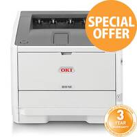 OKI B512DN A4 Mono Laser Workgroup Printer Network Ready Duplex