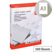5 Star Value Copier Printer Paper A3 80gsm White 500 Sheets