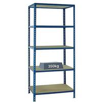 Medium Duty Bays Shelf Size 1200x600mm Blue 379626