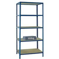Medium Duty Bays Shelf Size 900x600mm Blue 379624