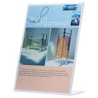 Q-Connect Slanted Sign Holder L-Shape A4 KF04177