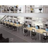Quadrifoglio Officity X4 Call Centre Desking Range