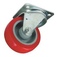 Polyurethane Tyred Wheel, Medium Duty - Swivel
