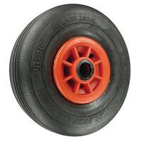 Puncture Proof Wheels Load Capacity 200kg Bore 25mm Roller Wheel Diameter 260mm