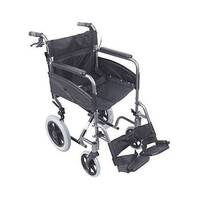 Compact Transport Wheelchair Black