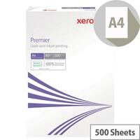 Xerox Premier Printer Paper A4 80gsm White 500 Sheets
